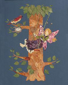 Original OOAK Flower Fairy Art Imagine by fairyblossomdesigns