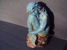 Statuary Stone Mermaid ~ Etsy