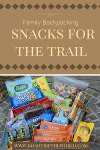 Trail Snacks for hiking and backpacking. The fool proof way to prevent the whines when hiking with kids! Includes a printable shopping list!