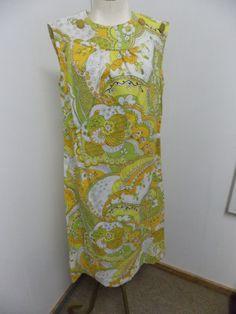 Vintage SEARS Arnel Triacetate Fabric Print by PfantasticPfinds, $19.99