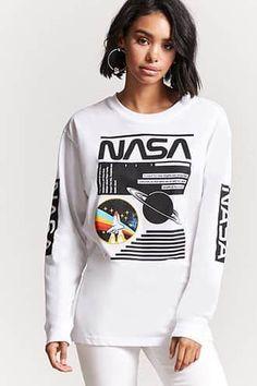 NASA Graphic Long-Sleeve Tee
