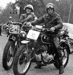 Enduro Motocross, Motocross Racing, Cafe Racer Motorcycle, Lamborghini, Ferrari, Enduro Vintage, Vintage Biker, Bmw Motorcycles, Vintage Motorcycles