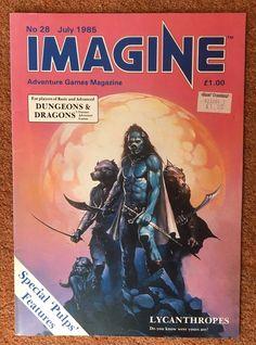 IMAGINE Magazine Issue 28 July 1985 TSR UK Dungeons & Dragons    eBay