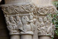 Más tamaños | San Pedro el Viejo, Huesca (Spain). | Flickr: ¡Intercambio de… Garden Sculpture, Lion Sculpture, Architecture Details, Mists, Objects, Angel, Statue, Photo And Video, History