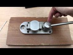 Superior Ring Bender - Spoon Ring Bending Tool Tutorial #301.00A by Pepetools - YouTube