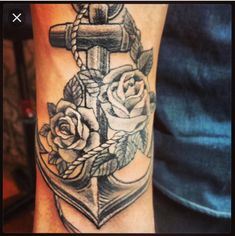 125 Best Anchor Tattoos of 2018 (with Meanings) - Wild Tattoo Art Marine Tattoos, Navy Tattoos, Wrist Tattoos, Body Art Tattoos, Sleeve Tattoos, Tattoo Art, Tatoos, Crow Tattoos, Phoenix Tattoos