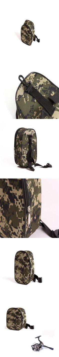 LEO Camouflage Gear Fishing Vessel Packet Outdoor Sport Mini fishing bag