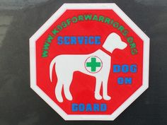 Service Dog On Board by ASLLEXICON.