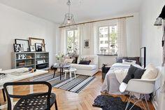 One pic weekend: Studio apartment in Scandinavian style