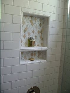 I'm in love with shower niches