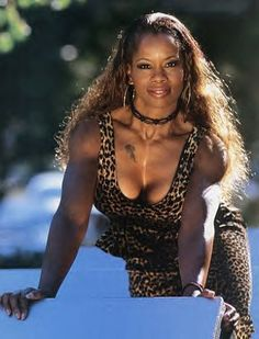 Jacqueline Moore, the first African American to win the WWF Women's Wrestling Championship