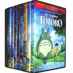 I WANTS - Miyazaki 13 Pack (Castle in the Sky/Kiki's Delivery Service/Nausicaa of the Valley of the Wind/Grave of the Fireflies/Porco Rosso/Princess Mononoke/Spirited Away/The Cat Returns/Howl's Moving Castle/My Neighbor Totoro/My Neighbors the Yamadas/Pom Poko/Whisper of the Heart)