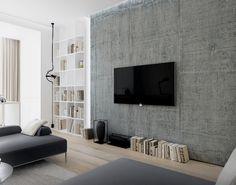 Lipki apartment   by Nikita Borisenko