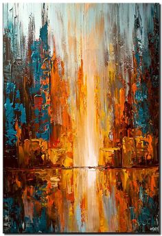Abstract and Modern Paintings – Osnat Fine Art Abstract and Modern Paintings – Osnat Fine Art,abstrait colorful city lights abstract painting palette knife Related posts:Sensory Rain Clouds: Summer STEM for Kids! Abstract Painting Techniques, Oil Painting Abstract, Abstract Wall Art, Painting Tools, Painting Art, City Painting, Modern Abstract Art, Best Abstract Paintings, Painting Lessons