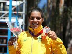 Blog Esportivo do Suíço: Ana Marcela Cunha vence etapa no Canadá e alcança liderança de ranking