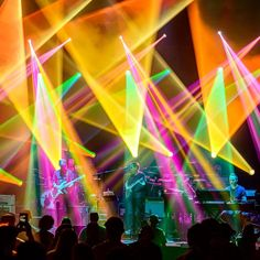 Wicked cool lighting at an Umphrey's McGee concert captured by photographer Jeffrey Everett.