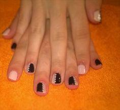 pink-black-white purls