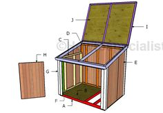 Generator Shed Plans | HowToSpecialist - How to Build, Step by Step DIY Plans