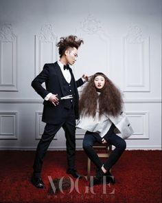 """The Perfect Match"" | Model: Jangyunju, Photographer: Ohjungseok, Vogue Korea, January 2011"