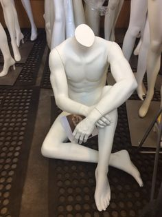 Rootstein Reclining Male – Mannequin Madness for sale $150