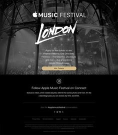 Win Tickets to Apple Music Festival in London. - Really Good Emails