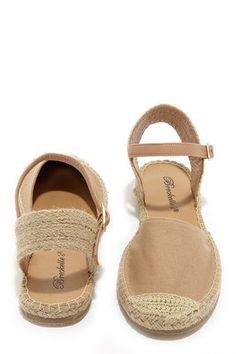 Cute Espadrilles - Espadrille Sandals - $19.00