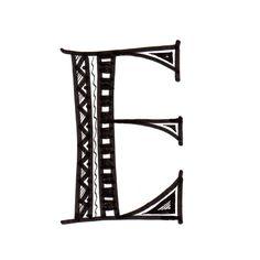 Most Feminine Letter Of The Alphabet E