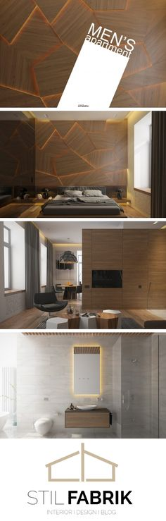 MENu0027S APARTMENT on Behance Bed Room \ Working Room Pinterest - gestaltungsmoglichkeiten einraumwohnung