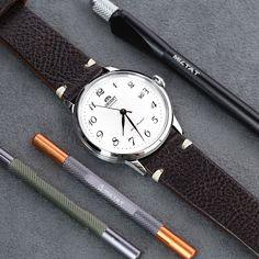 Watch Companies, Watch Brands, Orient Watch, Leather Watch Bands, 316l Stainless Steel, Wood Texture, Automatic Watch, T Strap, Italian Leather