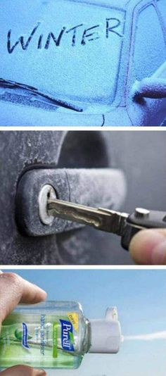 15 Clever Winter Hacks Everyone Should Know ~ http://positivemed.com/2014/12/04/15-clever-winter-hacks-everyone-know/