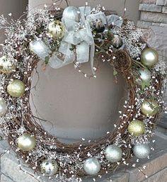 Faire une couronne de Noël, les tutos