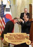 South Dakota Korean War Veterans : Medal Ceremony - DVD #DOEBibliography
