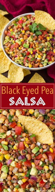 from cooking classy black eyed pea salsa black eyed pea salsa this ...
