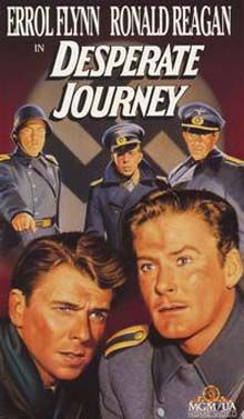 1942-09-26 Desperate Journey with Errol Flynn and Ronald Reagan at the movies