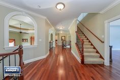 Love that wood floor