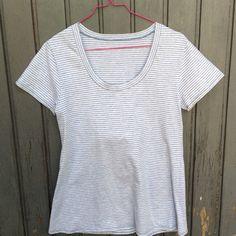 Plantain T-Shirt, my favorite pattern. Sewn by ganzmeinding