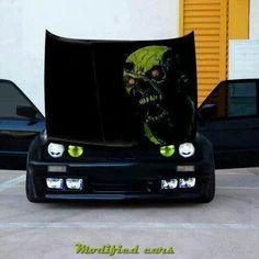 BMW E30 3 series black demon