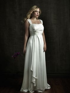 Allure Bridals Style W272 Beautiful Wedding Gowns For The Fuller