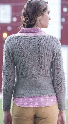 Top down sweater knit pattern free