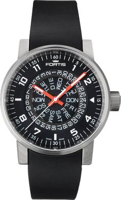 f301825736a Fortis Watch Cosmonautis Spacematic Counterrotation Gents Watches