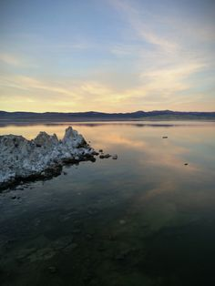 #monolake #blue #lake #sky #tufa #symmetry #water #reflection