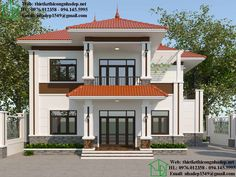House Balcony Design, 3 Storey House Design, House Outside Design, Duplex House Design, Two Storey House, Indian House Exterior Design, Kerala House Design, Style At Home, Bungalow Haus Design