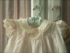 antique baby clothes | Vintage baby clothes have so many details and the hand embroidery ...