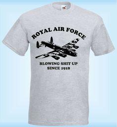 Royal Airforce Lancaster Blowing Shit Up | LoveMePrint