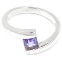 Ehrfürchtig 925er Sterling Silber Iolite Cut Ring von Edelstein-Schmuck auf DaWanda.com