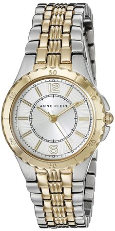 Anne Klein Women's AK/2129WTTT Two-Tone Bracelet Watch >>> Click image to review more details.