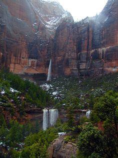 Emerald Pools in Zion National Park, Utah