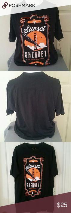 MENS cannabis themed shirt Sunset Sherbet mens Tshirt Shirts Tees - Short Sleeve