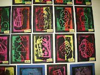 Art With Mr. E: 2nd Grade Art Show Work