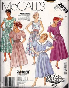 Fashion Basics Cut To Fit Dress and Tie by DawnsDesignBoutique, $7.75